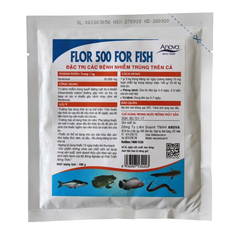 FLOR 500 FOR FISH